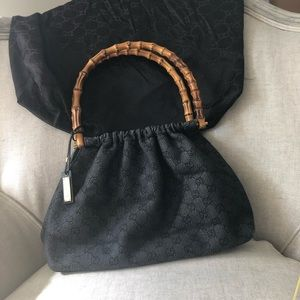 Authentic Gucci bag with bamboo handles